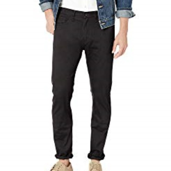 top-rated quality select for latest enjoy big discount DOCKERS THE JEAN CUT STRAIGHT BLACK STRETCH PANTS Boutique